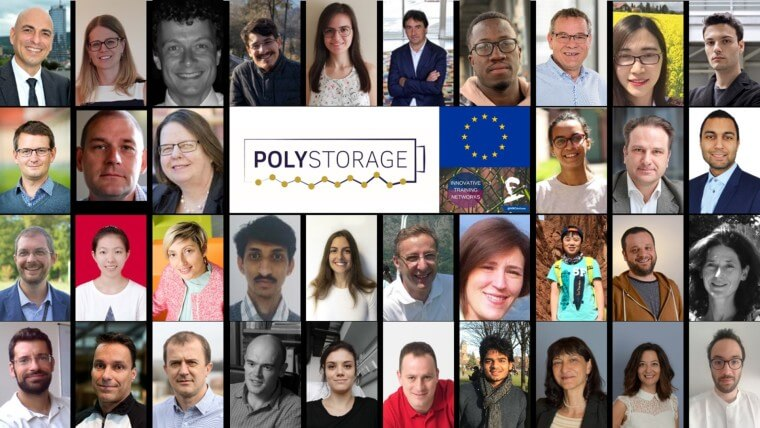 ETN POLYSTORAGE: News on project status and presentation of the first ESR's at the online meeting on 6 July.