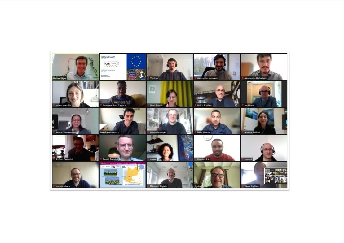 Our second POLYSTORAGE progress meeting online event on 5 May 2021!