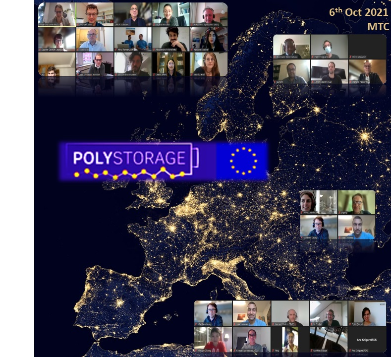 POLYSTORAGE Mid-Term Check Meeting on 6th October 2021